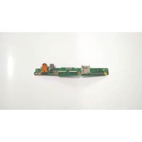 Placa USB e conector de áudio TF501T IO REV 3.1 Asus Transformer Pad K00C TF701T TF701