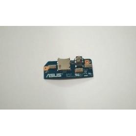 Placa-SIM e um conector de áudio ME103K 5B REV 2.2 Asus MeMO Pad 10 ME102K ME103K K01E