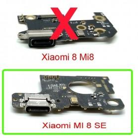 Cabo flex Xiaomi Mi8 SÃO conector carga