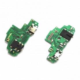 Conector carga flex Huawei P Smart e Enjoy 7S placa USB