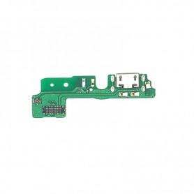Conector carga flex Honra 6A placa USB