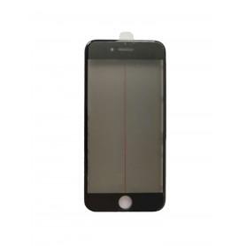 Vidro do iPhone 8 com estrutura OCA e filme polarizado Original preto