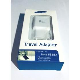 Carregador EP-TA20EWE Samsung Galaxy S6, S7 e Nota 4 na caixa