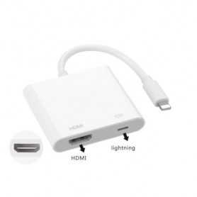 Adaptador do iPhone para HDMI reproduzir na TV
