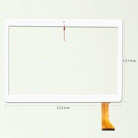 Tela sensível ao toque BRANCA SQ-PGA1308W01-FPC-A2 MJK-0731-V1-FPC