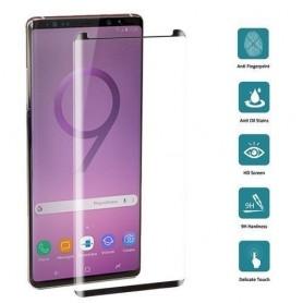 Protetor Vidro Curvado para Samsung Galaxy Note 9 Preto