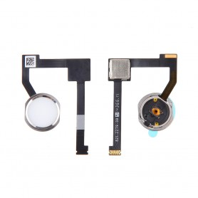 Cabo flex iPad 6 Air 2 botão home Flex com botão home branco Original