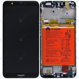 Tela com Moldura e bateria Huawei P Smart 02351SVJ