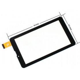 TCC-0189-07-V2 Tela sensível ao toque Billow X703x x703b vidro digitalizador