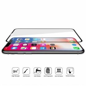 Protetor vidro curvado 6D para iPhone XS Max
