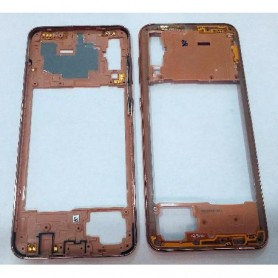 Estrutura frontal LCD Samsung A70 A705 A705F/DS A705FN chassi