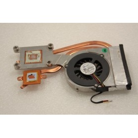 Ventilador e dissipador F528-CCW DFB601005M30T para o Packard Bell Easynote MIT-DRAG
