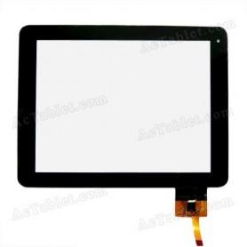 Tela sensível ao toque do tablet Blusens TOUCH85