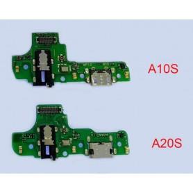 Placa conector carga Samsung A20s A207F
