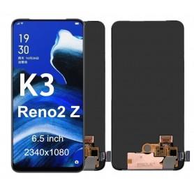 Tela cheia Oppo Reno 2Z CPH1945 toque e LCD