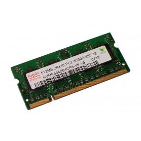 MEMÓRIA SODIMM 512MB DDR2 667MHz HYMP564S64CP6-Y5 AB