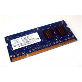 MEMÓRIA SODIMM 512MB DDR2 667MHz NANYA NT512T64UH8B0FN-3C