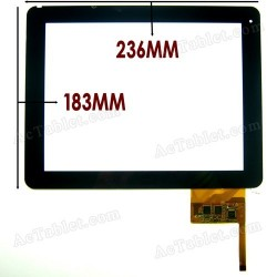 "Tela de toque para tablet Omega Tablet de 9,7"" IPS DIGITALIZADOR"