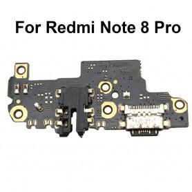 Conector Carga Xiaomi Redmi Note 8 Pro placa USB flex
