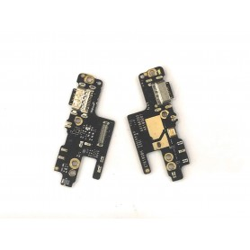 Cabo flex e conector carga Xiaomi Redmi Note 7S placa USB