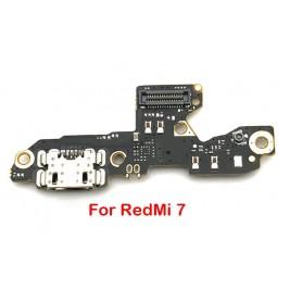 Conector Carga Xiaomi Redmi 7 Y3 cabo flex placa USB