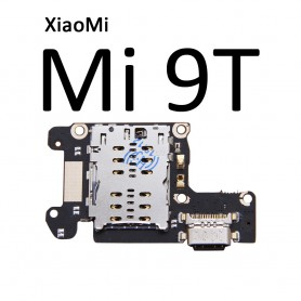 Flex Conector Carga Xiaomi mi 9C mi9t placa