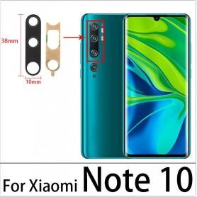 Lente de vidro da câmera Xiaomi MI Note 10