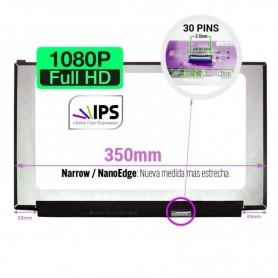 Tela LCD de 15,6 polegadas 30 pinos 1920x1080 350mm