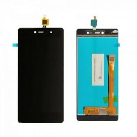 Tela sensível ao toque e tela Wiko Fever 4G branco ou preto