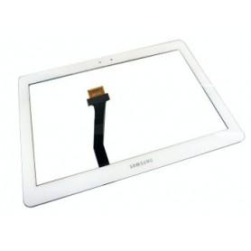 Tela sensível ao toque do tablet Samsung galaxy note 10.1 N8000, N8010, N8013 BRANCA