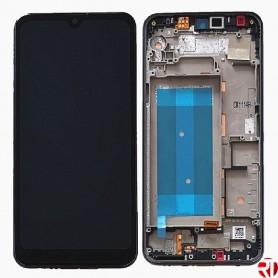 Tela LCD sensível ao toque LG K12 Max LM-X520BMW com quadro dual SIM