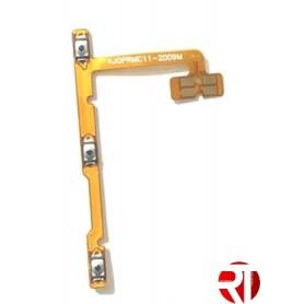Botão de ignição desligado Realme C12 cabo Flex compatível