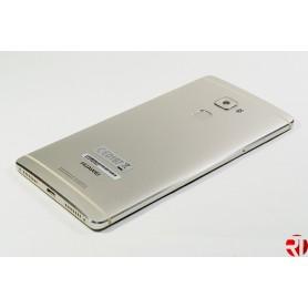 Tampa traseira bateria com leitor de impressão Huawei Mate A champanhe ou cinza