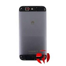 Tampa traseira Huawei Ascend G7 branco e prata ou cinza escuro