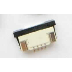 Conector FPC 4 PINOS, para cabo Plano Ribbon FPC