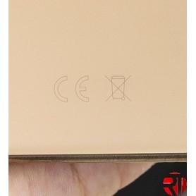 Tampa traseira iPhone 11 Pro vidro só Ouro (fácil instalação)(CE) reposição