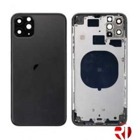 Tampa traseira iPhone 11 Pro Max Negra (CE) reposição