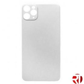 Tampa traseira iPhone 11 Pro vidro apenas Prata (fácil instalação)(CE) reposição