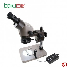 BAKU BA-008 alta resolução Binocular microscópio com lâmpada LED incluído