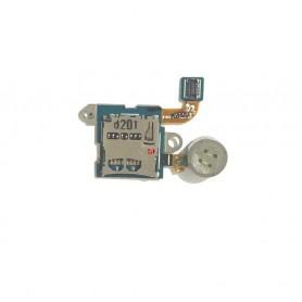 Flex Leitor de cartão MicroSD e vibrador Samsung Galaxy Note 10.1 GT-N8000 Original