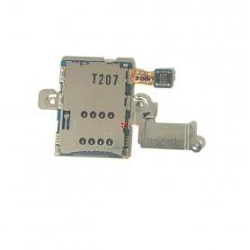 Flex Leitor de cartão SIM Samsung Galaxy Note 10.1 GT-N8000 Original
