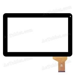Pantalla tactil para Tablet PC Szenio 2008 DC Conector fino 12 pins