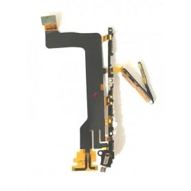 Flex botões ligar e volume Sony Xperia XZ F8331 F8332