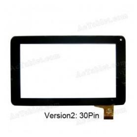 Tela de toque para tablet Momo 9 conector de 30 pinos pb70a8508