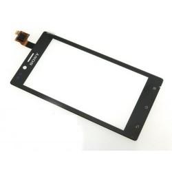 Tela sensível ao toque Sony Xperia J ST26 ST26i ST26a preto