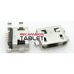 Conector carga jack micro usb U-090 para o seu tablet ou celular