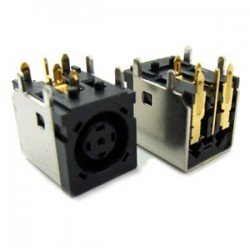 Conector DC JACK para Dell 500M, 600MM, 700MM, E1505, 1150, 5150