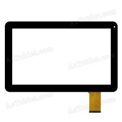 Tela sensível ao toque e-c10068-01 Best Buy Easy Home 10 polegadas