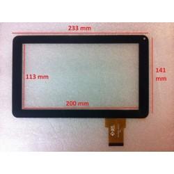 Tela sensível ao toque LHJ0206 FPC V01 digitalizador