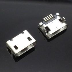 Conector de carregamento micro usb o smartphone ou tablet